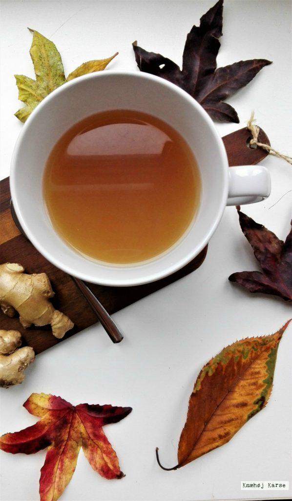 Hjemmelavet ingefær te