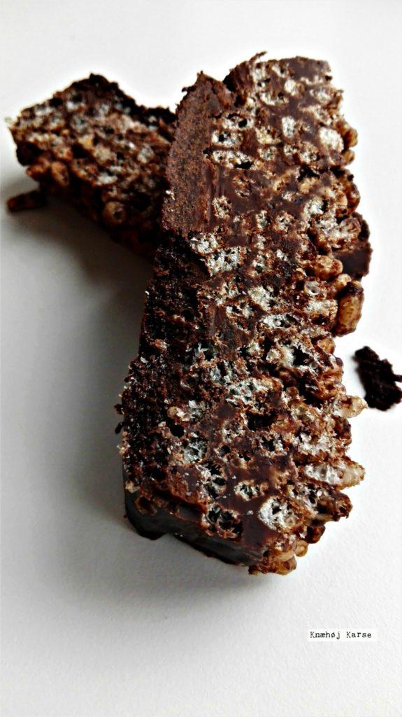 Rice krispies chokolade crunch barer
