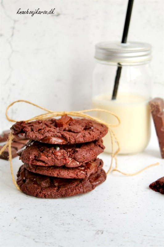 Veganske chocolate chip cookies