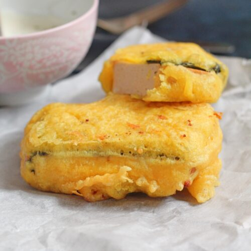 Vegansk fish and chips