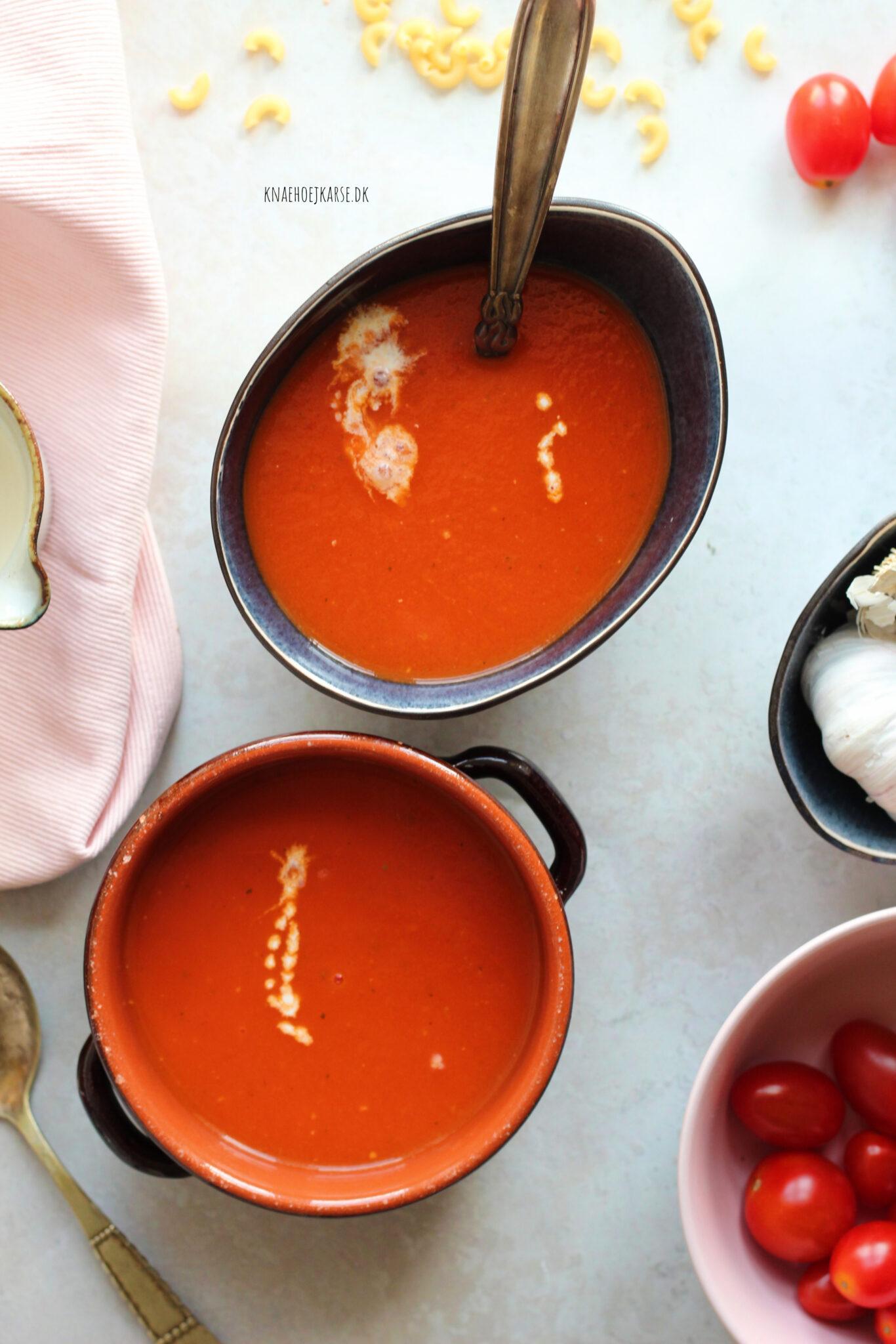 Tomatsuppe på kun 15 minutter
