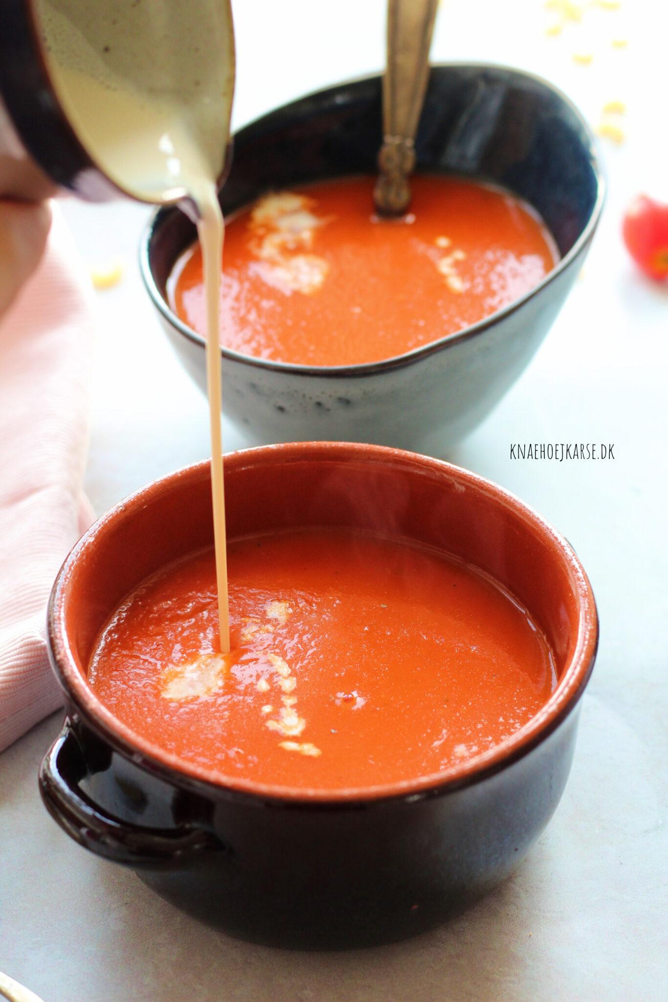 Verdens nemmeste tomatsuppe