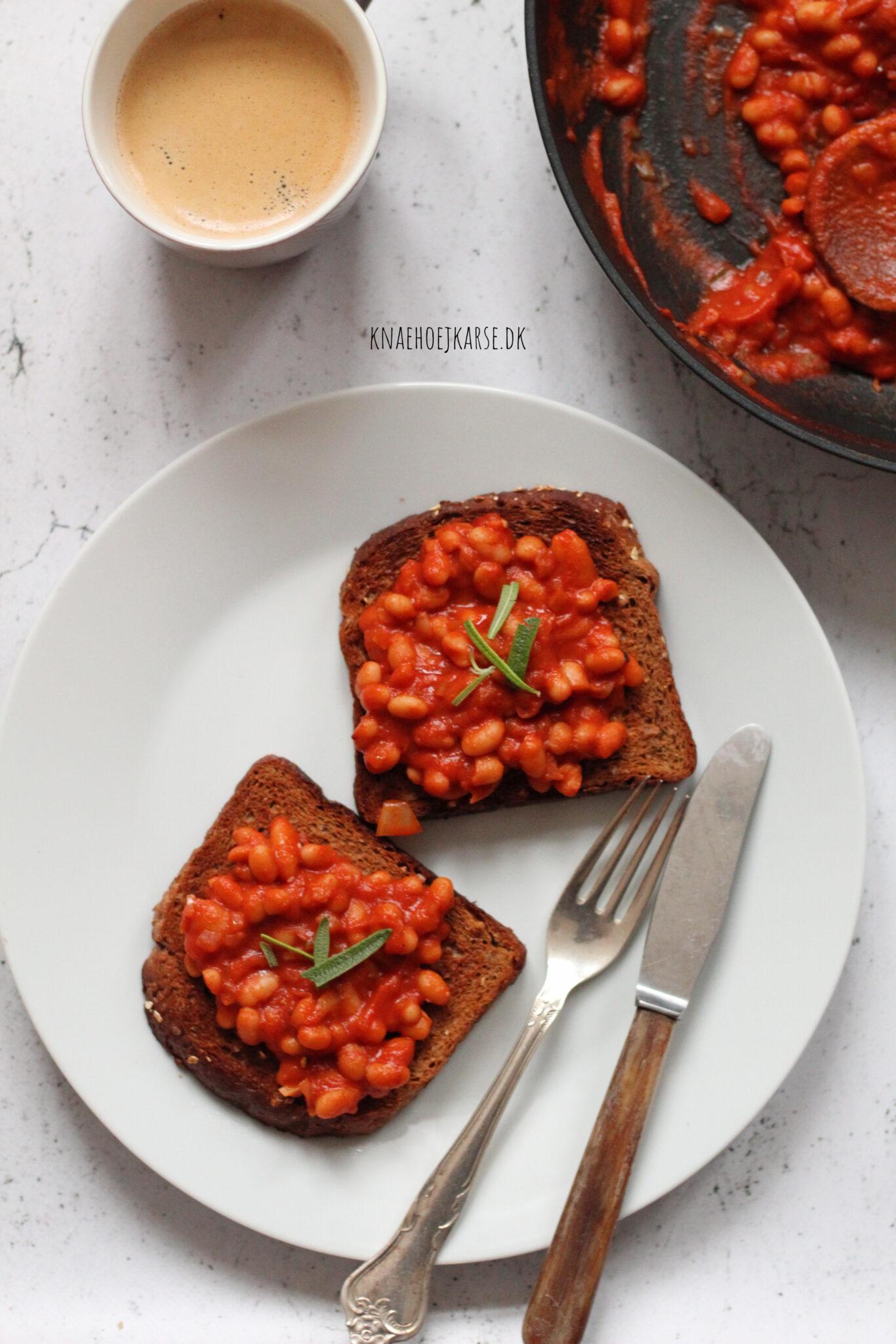 Hjemmelavet opskrift på Baked Beans
