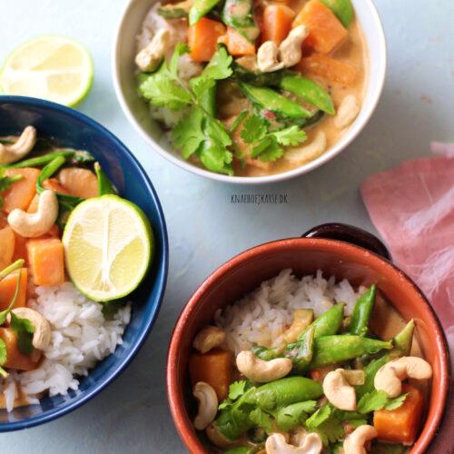 Thai curry med græskar