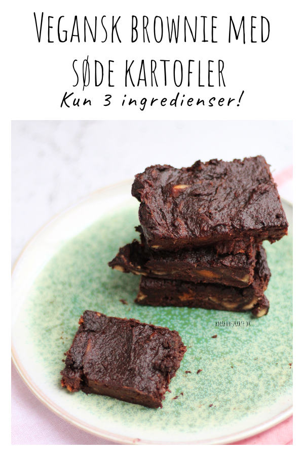 brownie med 3 ingredienser