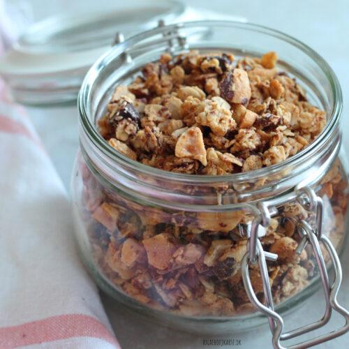vegansk peanut butter granola