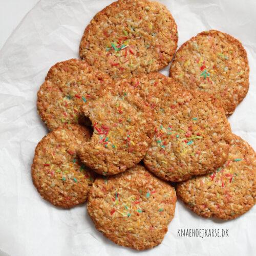 vegansk cookies med krymmel